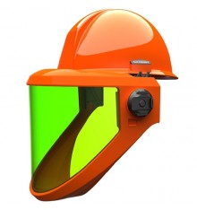 Salisbury Arc Flash Shield 20 Cal with Hard Hat