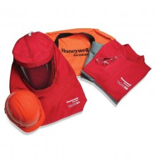 Arc Flash Clothing Kit,40 Cal,M,Red-Grey