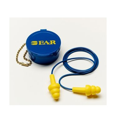 3M E-A-R UltraFit Corded Earplugs in Case 340-4002